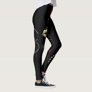Legging caneleiras femininos e ancas