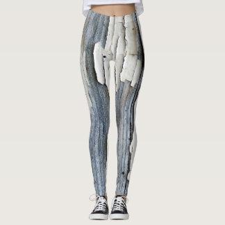 Legging Caneleiras flocosos da pintura
