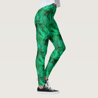 Legging Caneleiras Glam do Evergreen da diva