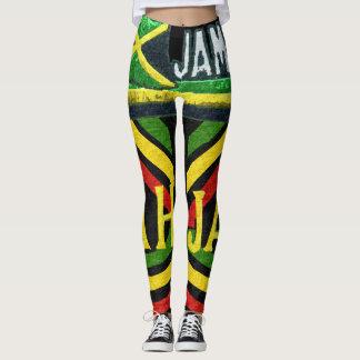 Legging Caneleiras jamaicanas de Rasta Jah