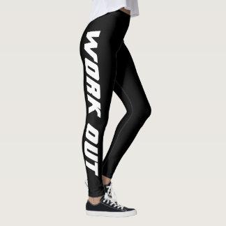 Legging Caneleiras modernas do exercício para o gym da