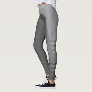 Legging Caneleiras monocromáticas à moda do teste padrão