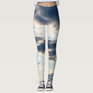 Legging Caneleiras nebulosas