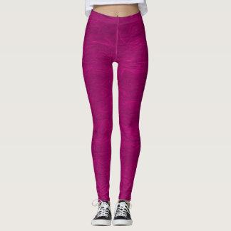 Legging Caneleiras Pastel de papel cor-de-rosa urbanas do