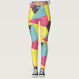 Legging Caneleiras retros do exercício do Gym do anos 80