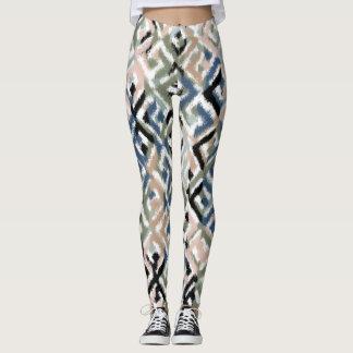 Legging Caneleiras Scratchy na moda do impressão do