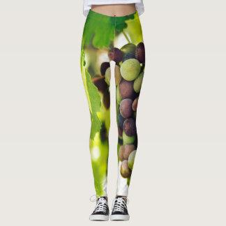 Legging Caneleiras verdes das uvas