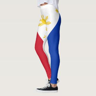 Legging Cheio da bandeira de Filipinas