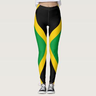 Legging Cheio jamaicano da bandeira