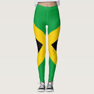 Legging Cheio jamaicano II da bandeira