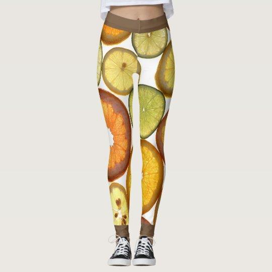 Legging Chevron Citrus