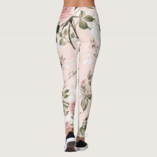Legging Chique, chique francês, vintage, floral, rústico,