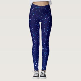 Legging Cintilação Stars2 azul