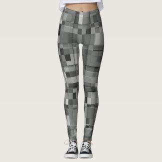 Legging Cinza quadrado do design