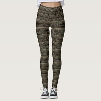 Legging Classic-Winter-Plaid's_Bark*-Taupe-LEGGING'S_XS-XL