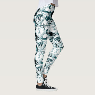 Legging Colapso Toile do cargo por Aleta
