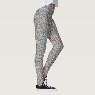 "Legging com dos ""design Pastel círculos"""