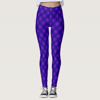 Legging Consciência mais alta - violeta & azul