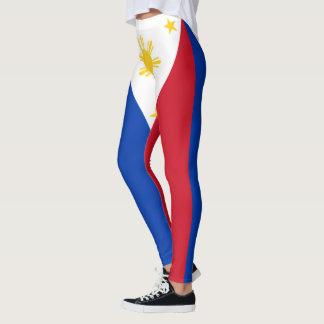 Legging Cores da bandeira de Filipinas