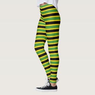 Legging Cores jamaicanas