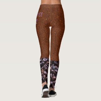 Legging Couture do café de Haute