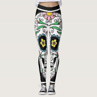 Legging Crânio colorido