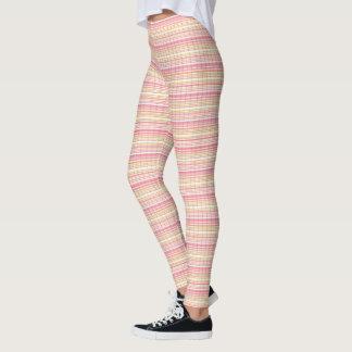 Legging Delicate_Weave_Peachy-Pink_Stripes-LEGGING'S_XS-XL