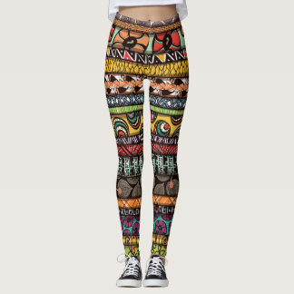 Legging Design africano