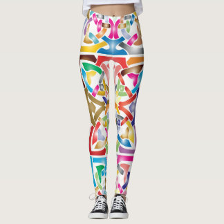 Legging Design celta colorido