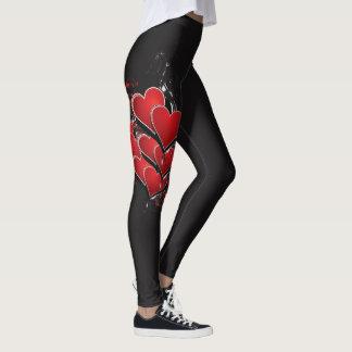 Legging Design do coração