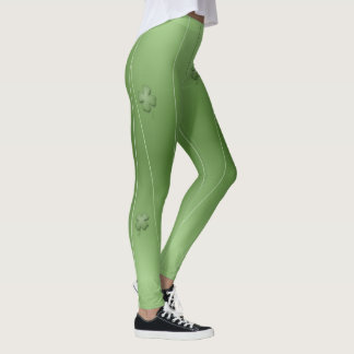 Legging Design irlandês bonito do trevo