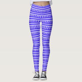 Legging Design moderno das caneleiras com elemento azul