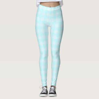 Legging Diamante azul gelado
