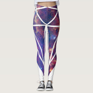 Legging Diamond Galaxy genebra de pôr