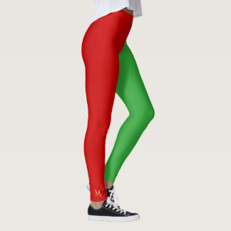 Legging Do Natal pequeno do duende do ajudante de Santa do
