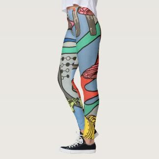 """Legging Do """"pintura da invasão do encanto da modificação"""
