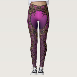 Legging durty pink