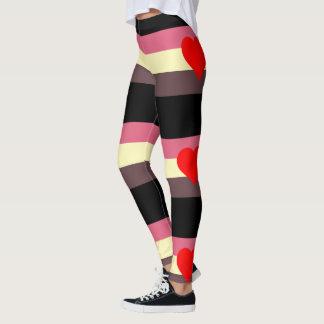Legging Elástico Caneleira-Super da bandeira do orgulho de