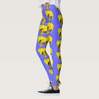 Legging Elefante amarelo