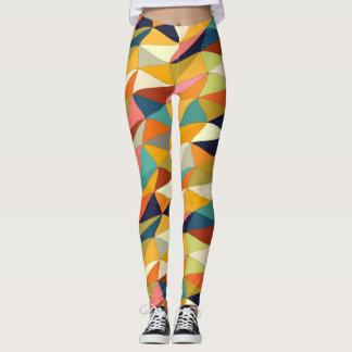 Legging emaranhado colorido…