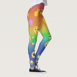 Legging Emojis colorido