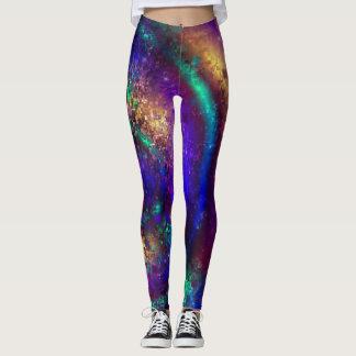 Legging Espirais galácticas