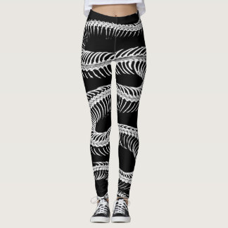 Legging Esqueleto Slithering do cobra