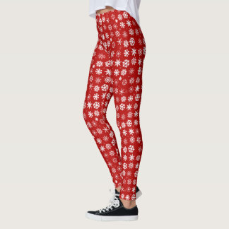 Legging Flocos de neve do Natal