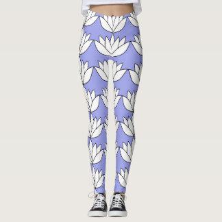 Legging Flor de Lotus branco