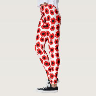 Legging Flores Groovy customizáveis