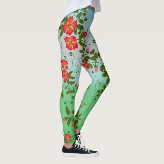 Legging Florescência do primavera