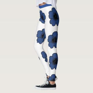 Legging Flower-Me-Navy-Floral_LEGGING'S_XS-XL