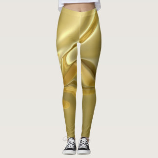 Legging Folha de ouro