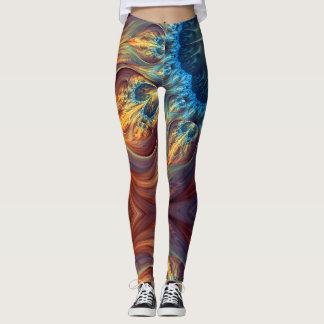 Legging Fractal Love - Power yoga Ir